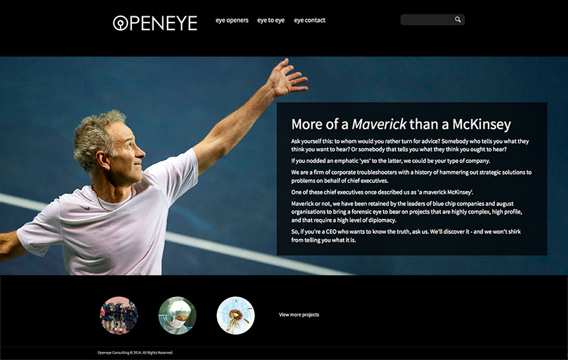 openeye-consulting home-page