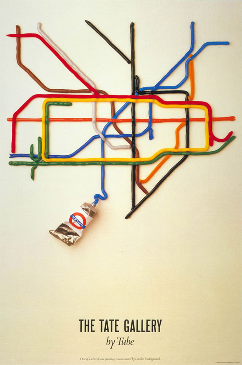 Tate by Tube poster for London Transport