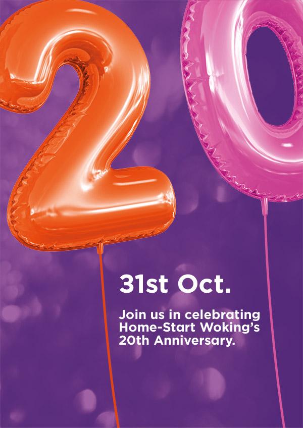 Home-Start Woking 20th Anniversary