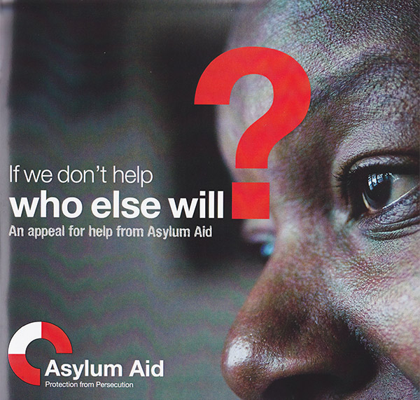 Asylum Aid case for support appeal brochure