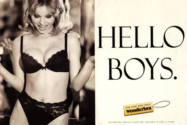 Wonderbra Hello Boys