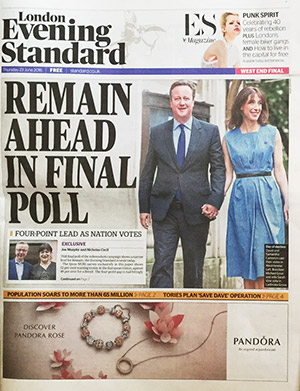 REMAIN ahead in polls