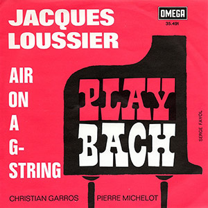 Jacques Loussier's air on a G string and Hamlet
