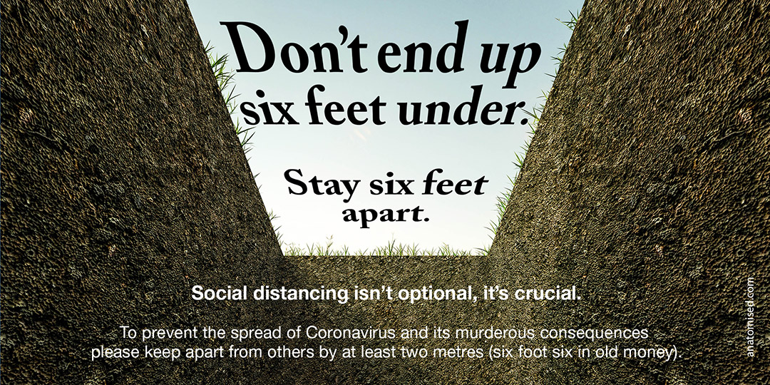 Don't end up six feet under